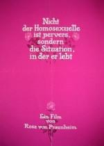Nicht der Homosexuelle ist pervers, sondern die Situation, in der er lebt (Seite ist unfertig)