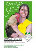 """""""Emmas Glück""""  auf der Open-Air-Bühne im Innenhof der CD-Kaserne"""